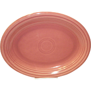 "Fiesta 12 1/2"" Rose Platter"