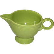 Fiesta Lemongrass Footed Creamer