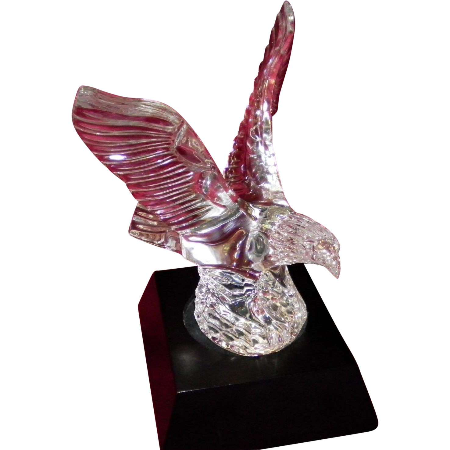 Waterford Crystal Eagle Sculpture