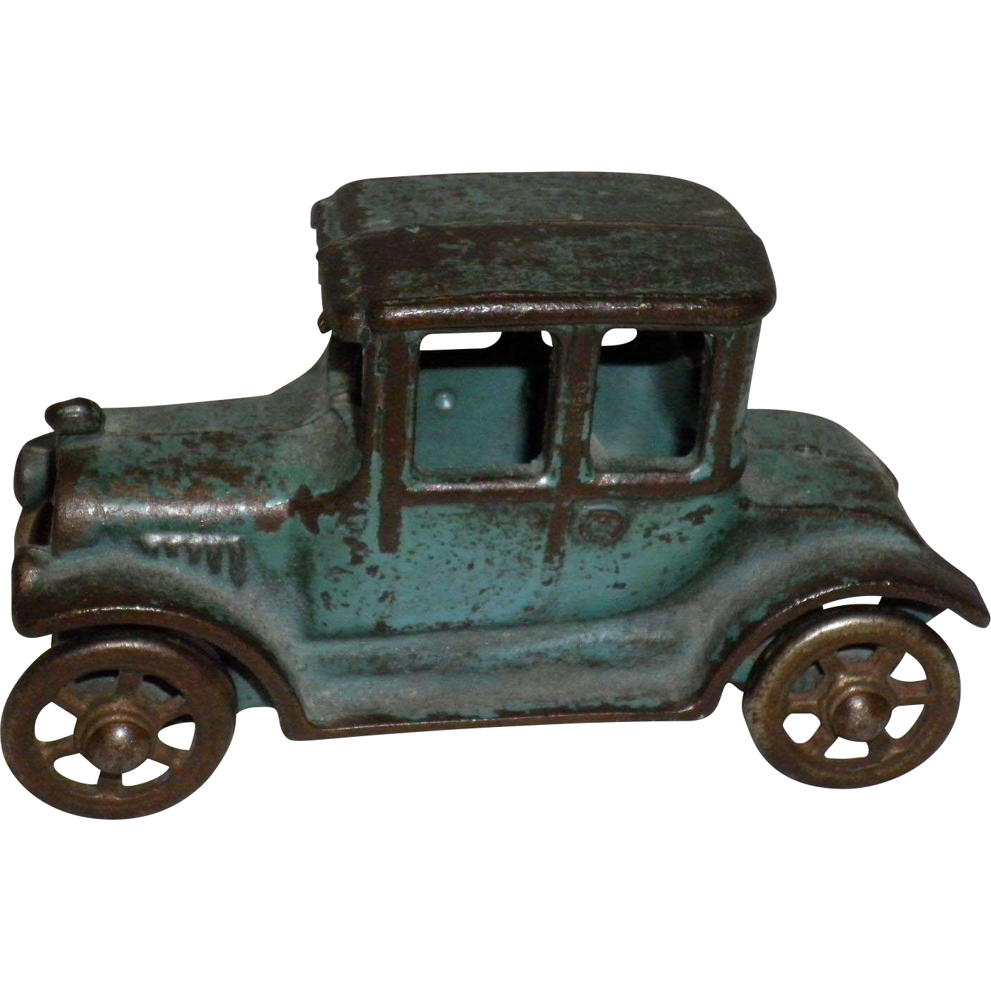 Vintage 2 Door Cast Iron Ford Model A