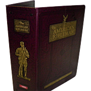 "1982 Complete Year ""The American Rifleman"" 12 Magazines In Official Binder / Album"