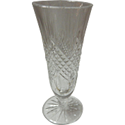 "Waterford Crystal Ashbourne Footed 7"" Vase"