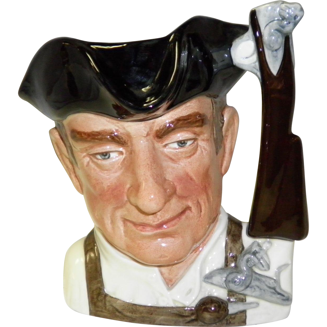 "Royal Doulton ""Gunsmith"" Toby Jug #6573"