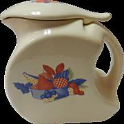 Calico Fruit Water Jug Universal Cambridge Pottery