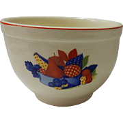 Calico Fruit Small Nesting / Mixing Bowl Universal Cambridge Pottery