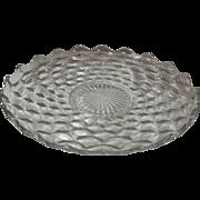 "American Fostoria 13.5"" Torte Plate"