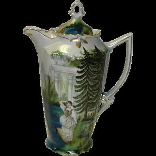 Antique JSV Bavaria Chocolate Pot