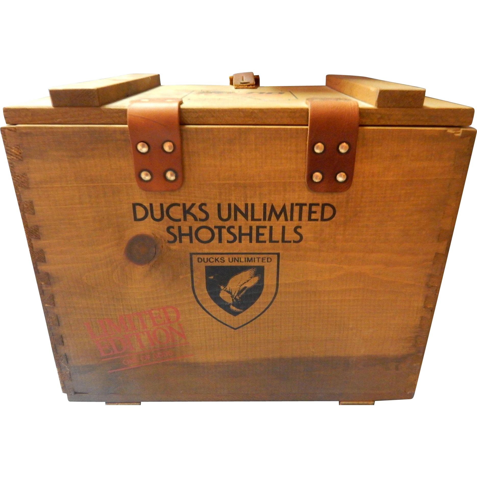 1982 Ducks Unlimited Shotshells Federal Gunner's Box 1 OF 3000