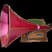 Victor Talking Machine Victrola Phonograph V V XA Works Great!