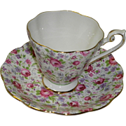 Royal Standard Fine Bone China Cup and Saucer Roses ENGLAND