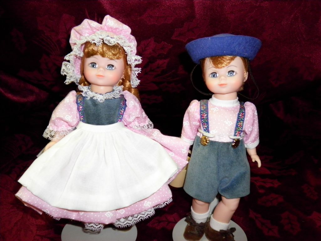 Madame Alexander Jack & Jill Dolls in Original Boxes