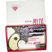 Vintage 1950's Nichols Dyna-Mite Toy Cap Gun in Original Box