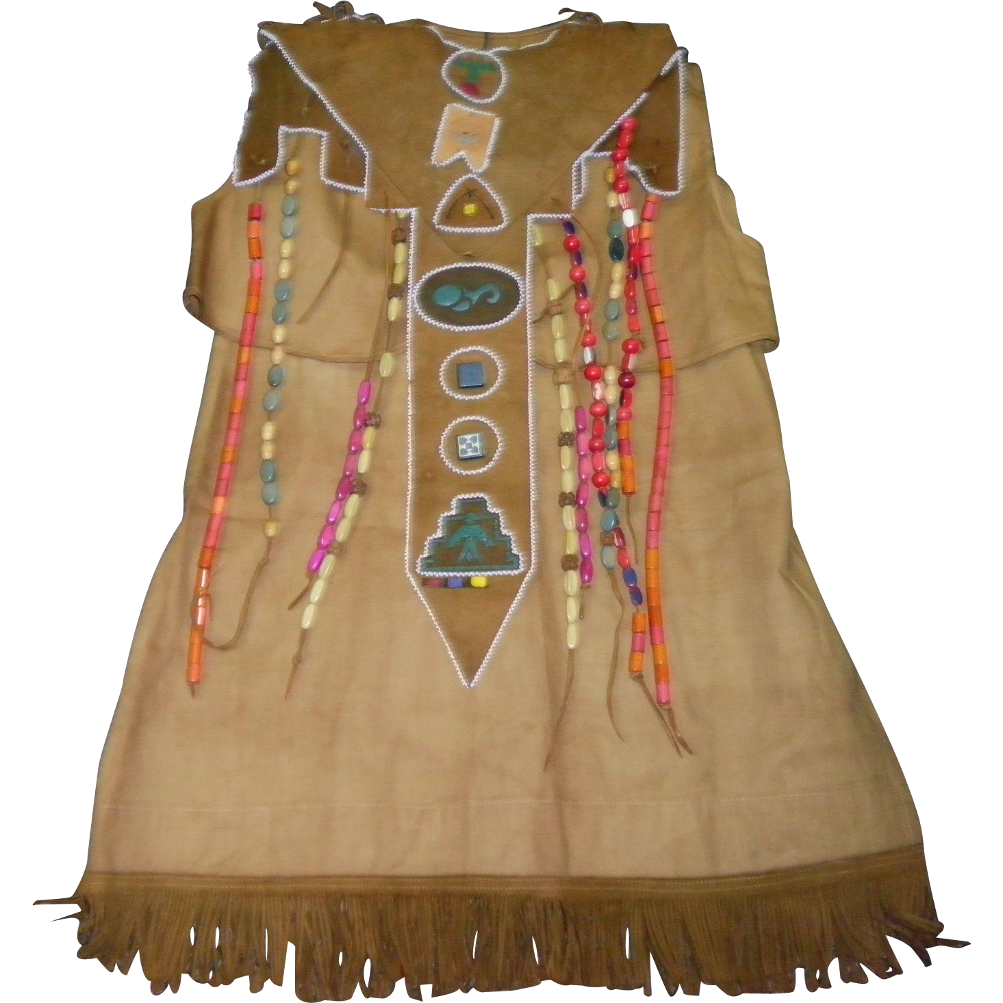 Vintage Campfire Girl Ceremonial Uniform