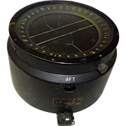 WWII U.S. Navy Aircraft Navigation Compass Pioneer