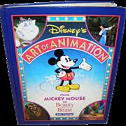 Disney's Art of Animation Book One By Bob Thomas 1991