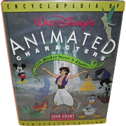 Encyclopedia of Walt Disney's Animated Characters by John Grant 1993 1st Edition Book