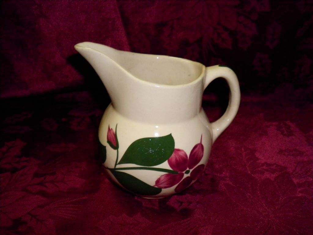 Watt Pottery #15 Star Flower Small  Pitcher