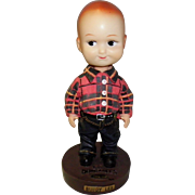 Buddy Lee Bobblehead Lee Dungarees Mascot