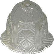 Small Vintage Glass Bell Light Fixture Shade