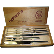 Austrian Swordmaker Knife Set Case No. 307