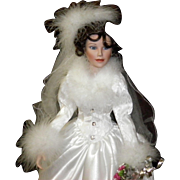"Ashton Drake""Winter Romance Doll"" by Sandra Bilotto, 1996"