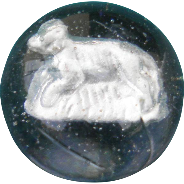 Sulphide Marble with Dog