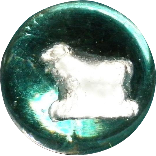 Sulphide / Sulfide Marble with Bull