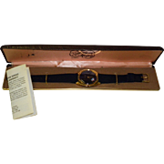 Vintage Amoco Advertising Watch In The Original Box.