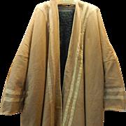 Men's Vintage Lined Farwa Cloak Saudi Arabian Desert Coat