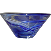 Kosta Boda Tempera Art glass Bowl