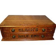 Clark's Mile End 2 Drawer Spool Cabinet