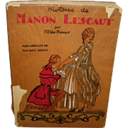 History Of Manon Lescaut by L'Abbe Prevost Written in French
