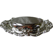 3 Pc. Towle Silver Plated Covered Divided Serving Dish