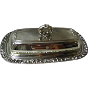 Henley Community Silver Plated Butter Dish