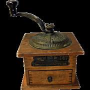 Antique Arcade Coffee Mill Grinder Imperial No. 147 Pat. 1889
