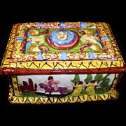 Italian Porcelain Trinket Box
