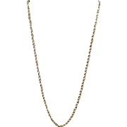 10K Yellow Gold Chain Italy 13.64 Grams