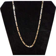 10K Yellow Gold Chain Marked Italy 16.59 Grams