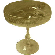 Cambridge Chantilly Round Compote