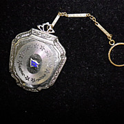 Victorian Chatelaine Compact