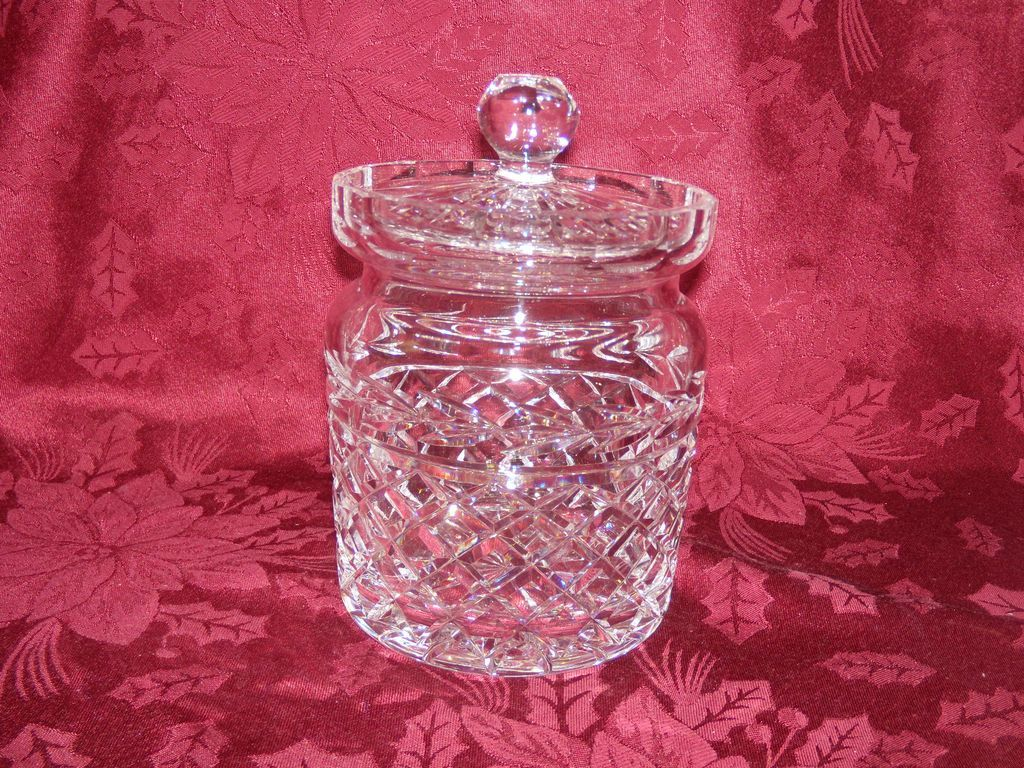 Waterford Crystal Glandore Biscuit Jar