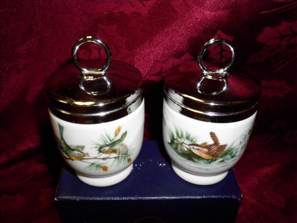 Royal Worcester Egg Coddler Set
