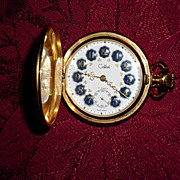 Colibri Swiss 17 Jewels Pocket Watch