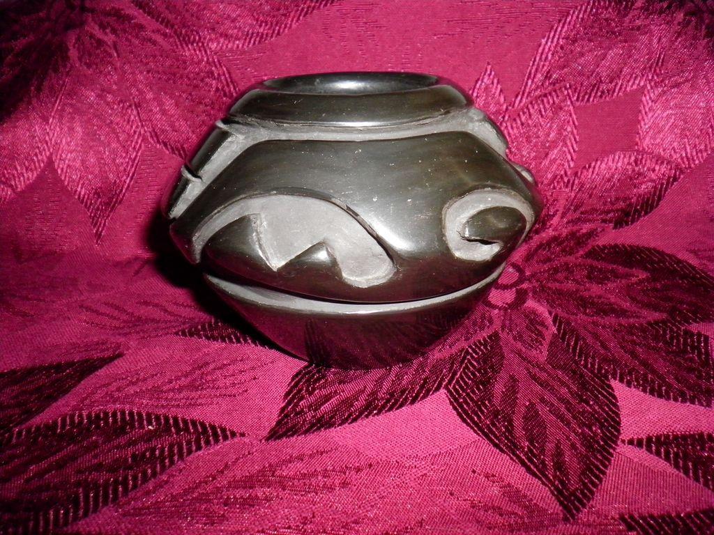 Santa Clara Pottery Signed Sunday Chavarria