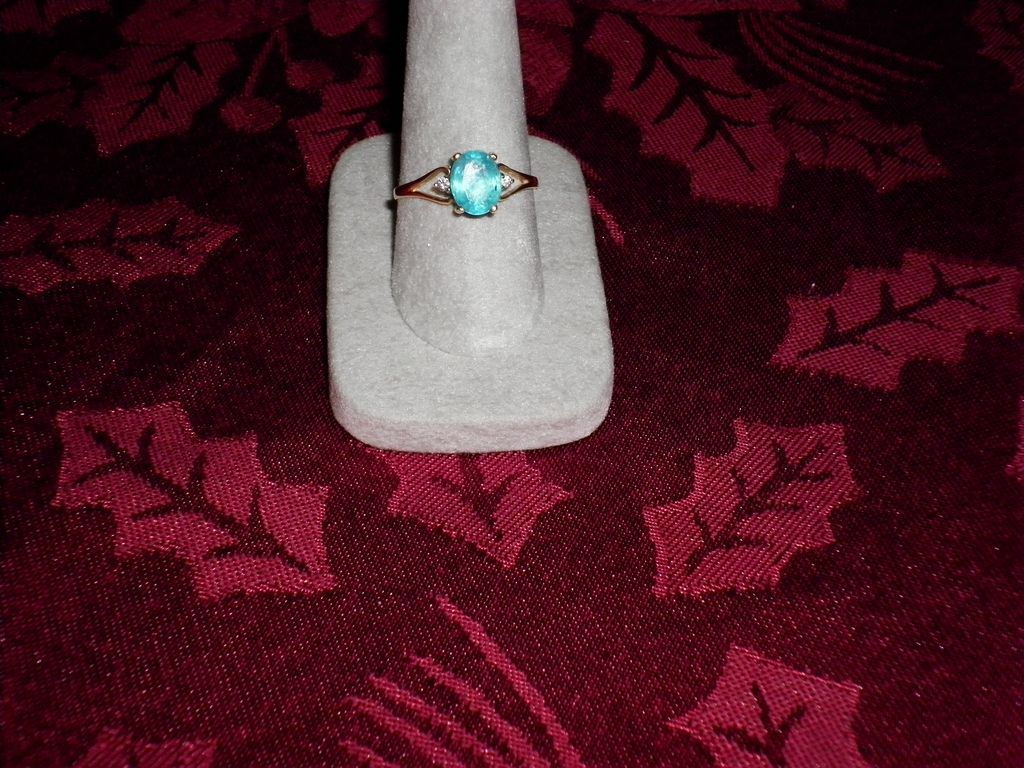 14 kt. Yellow Gold Appitite And Diamond Ring Size 9.5 With Appraisal