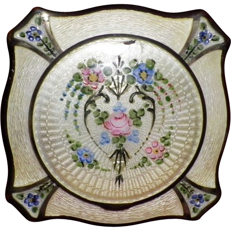 Victorian Enameled Guilloche