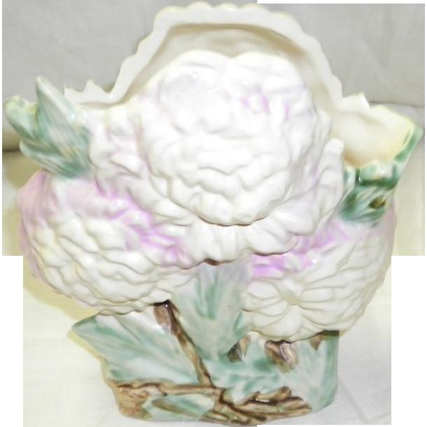 McCoy Lilac Chrysanthmum Vase