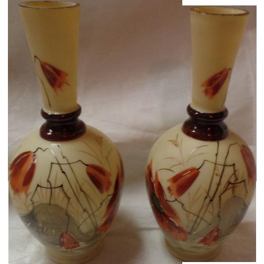 Set Of 2 Bristol Vases