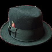 Vintage Stetson Bowler Derby Hat Size 7