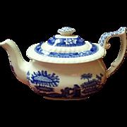 Spode Blue Tower Teapot